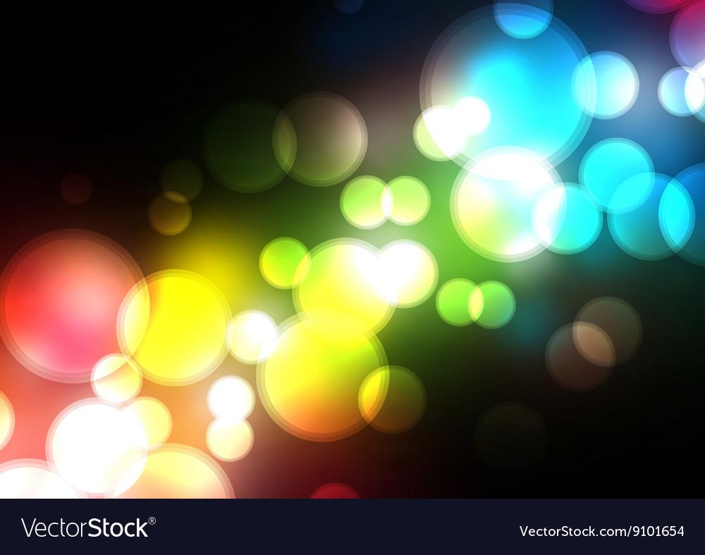 Blurred Background on dark