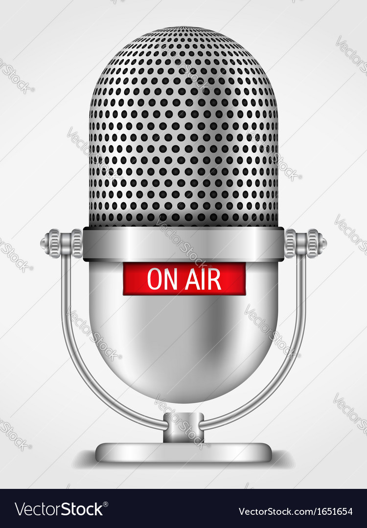Microphone On The Air