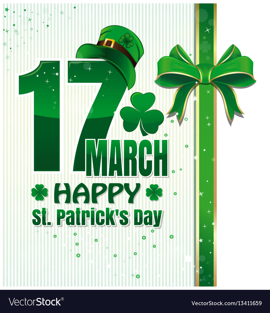 Background for happy st patricks day celebration