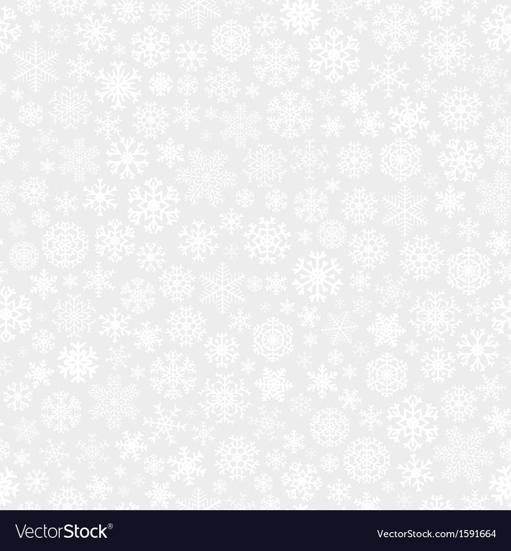 Christmas seamless pattern from snowflakes