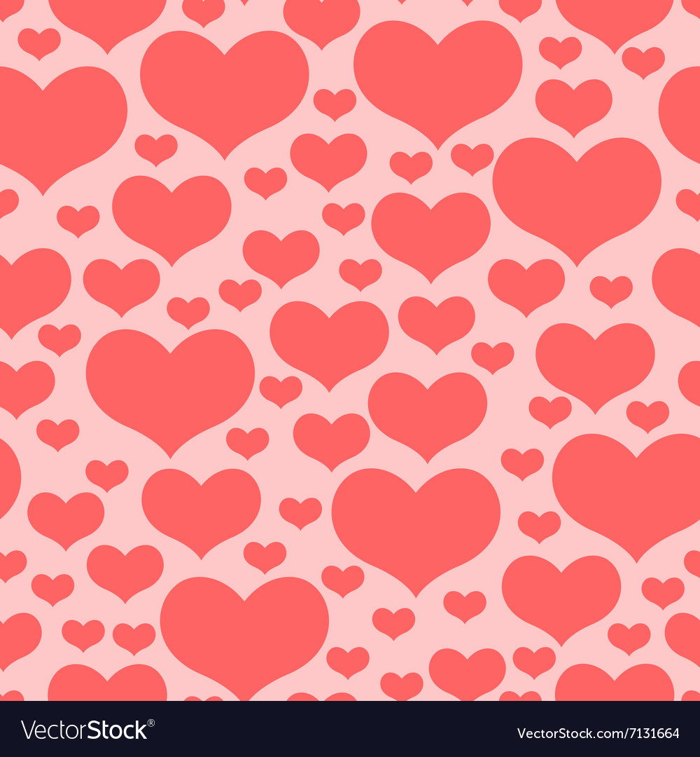 Hearts pattern pink2
