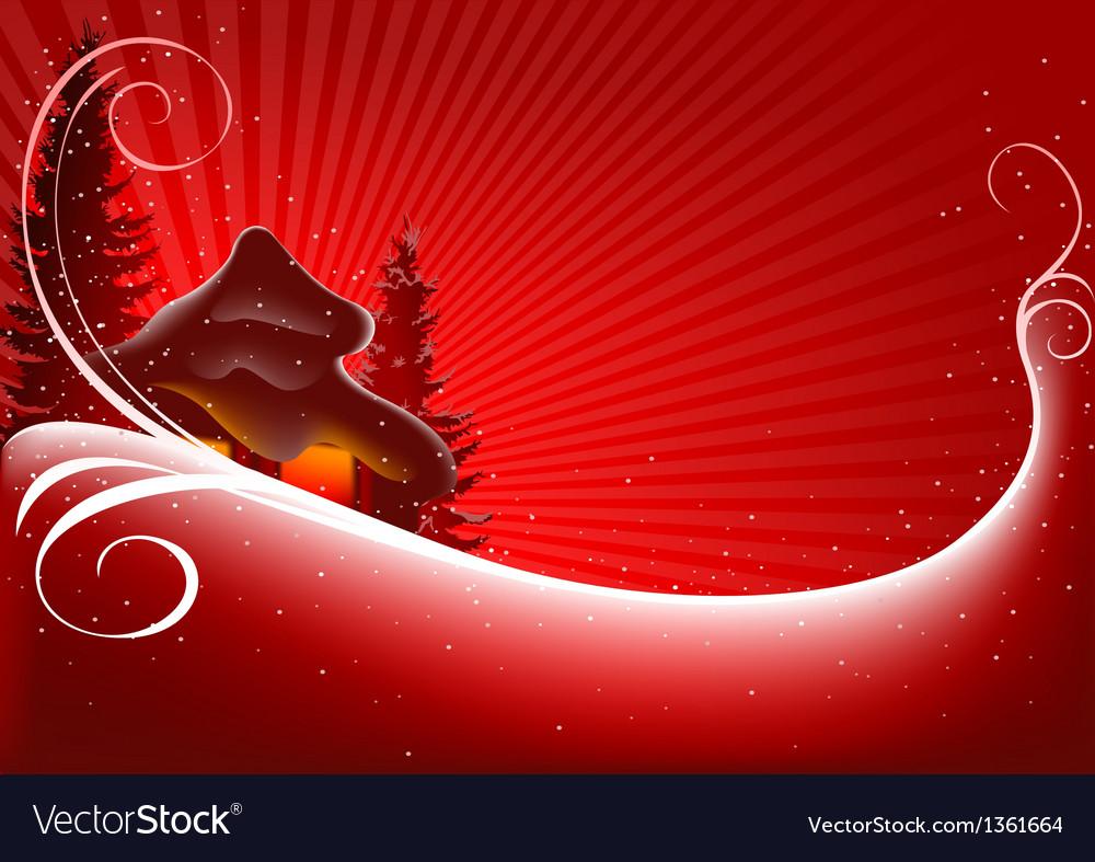 Red Christmas Greeting