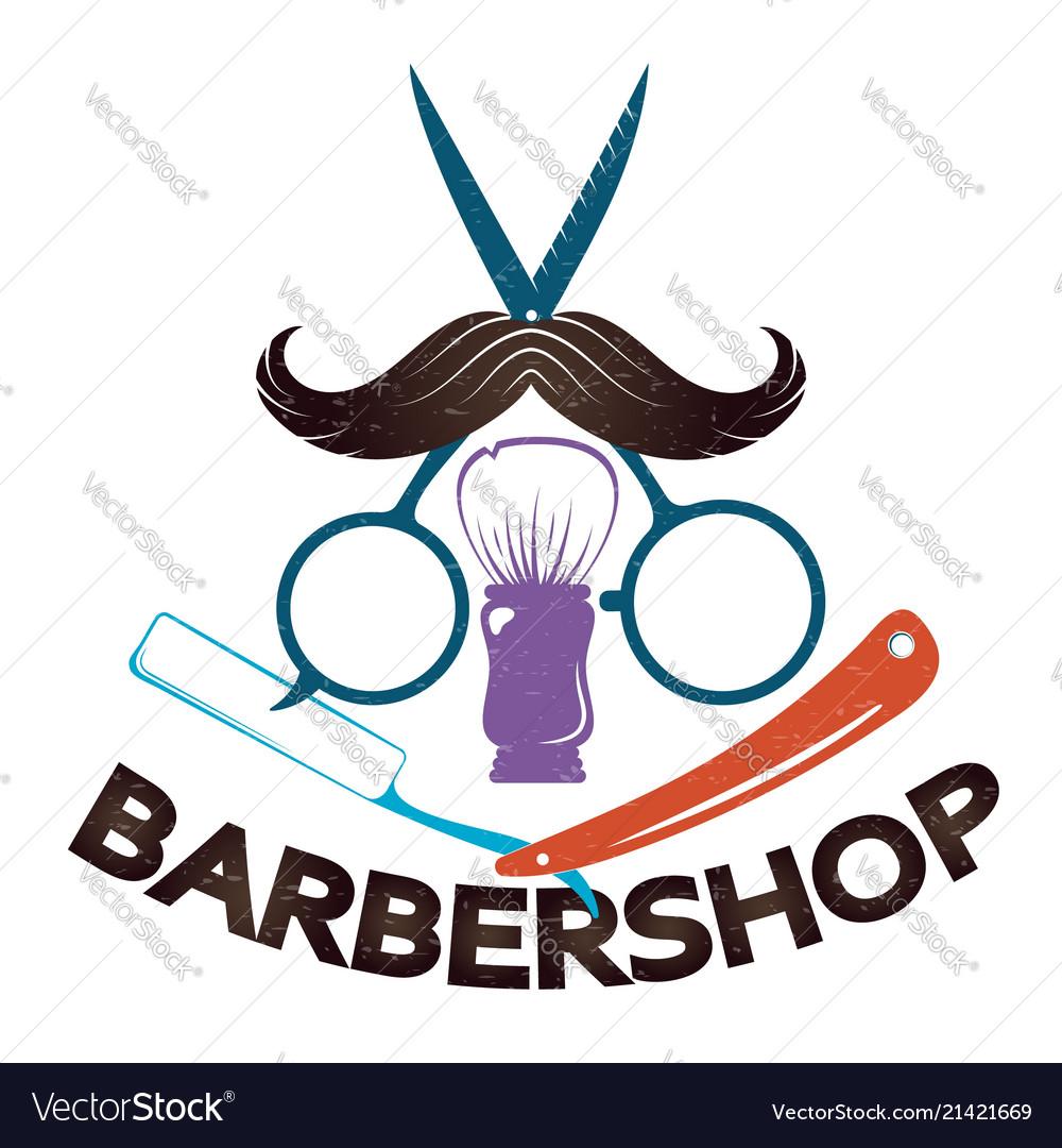 Barbershop for men symbol