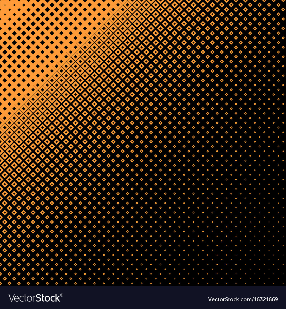 Halftone square pattern background - design