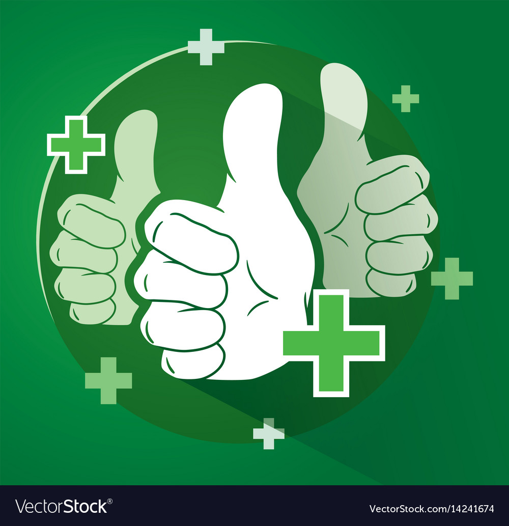 Adding likes with thumbs up