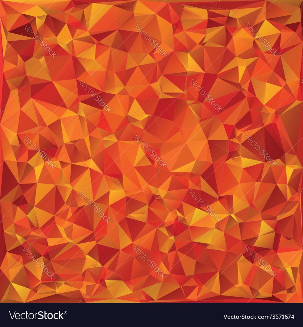 Autumn glass mosaic