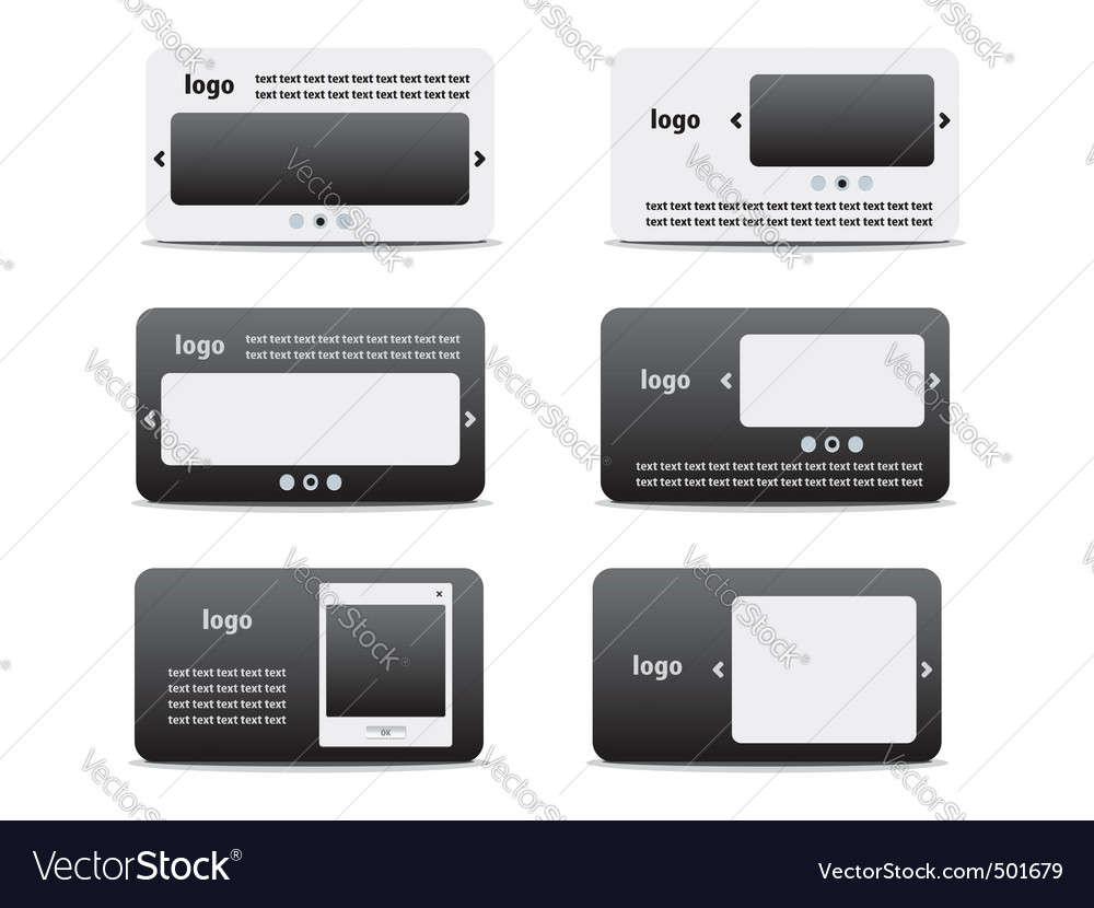 Web business card set 03