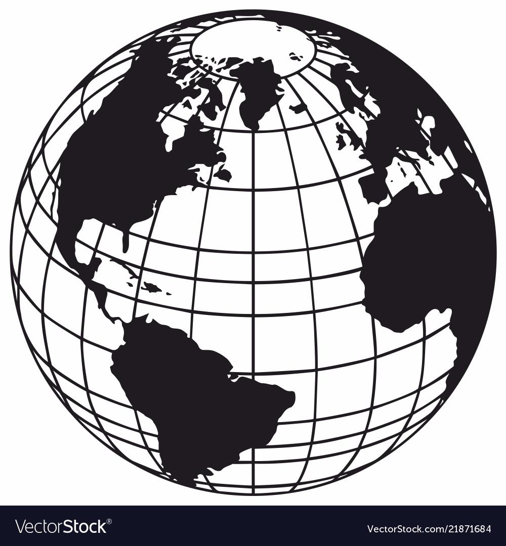 Глобус векторный картинки