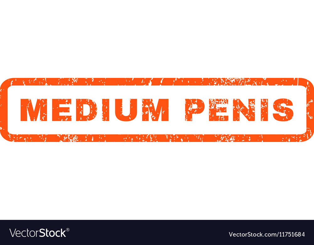 Medium Penis Rubber Stamp