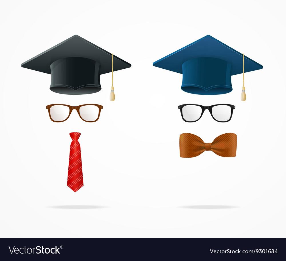Professor Graduated Geek Sign Avatar