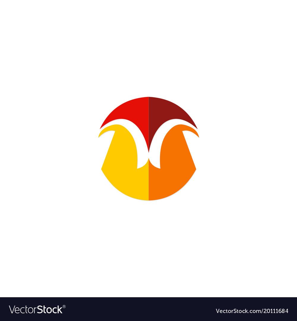 Shape geometry unusual company logo