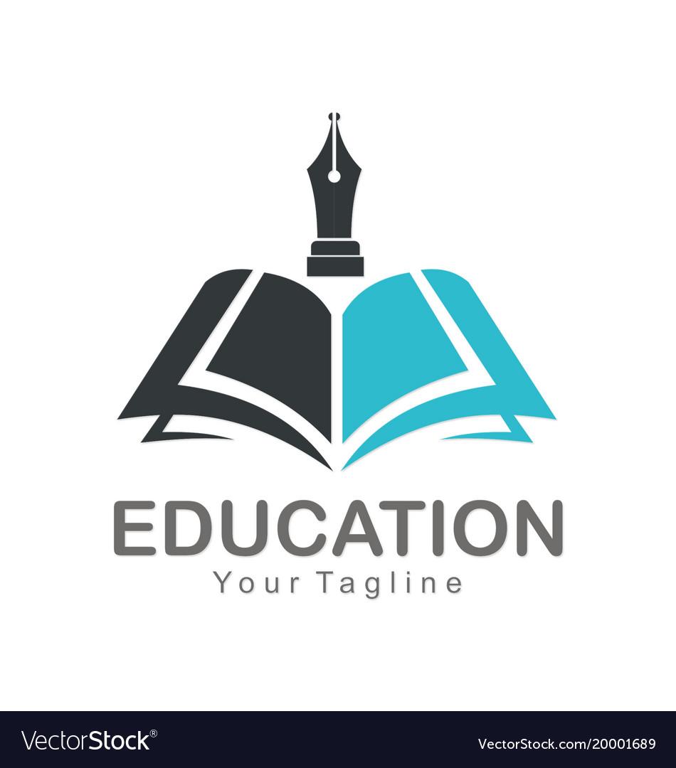 Education open book company logo