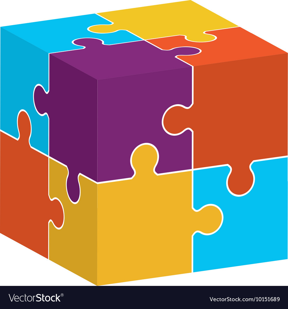 Puzzle jigsaw game figure icon graphic