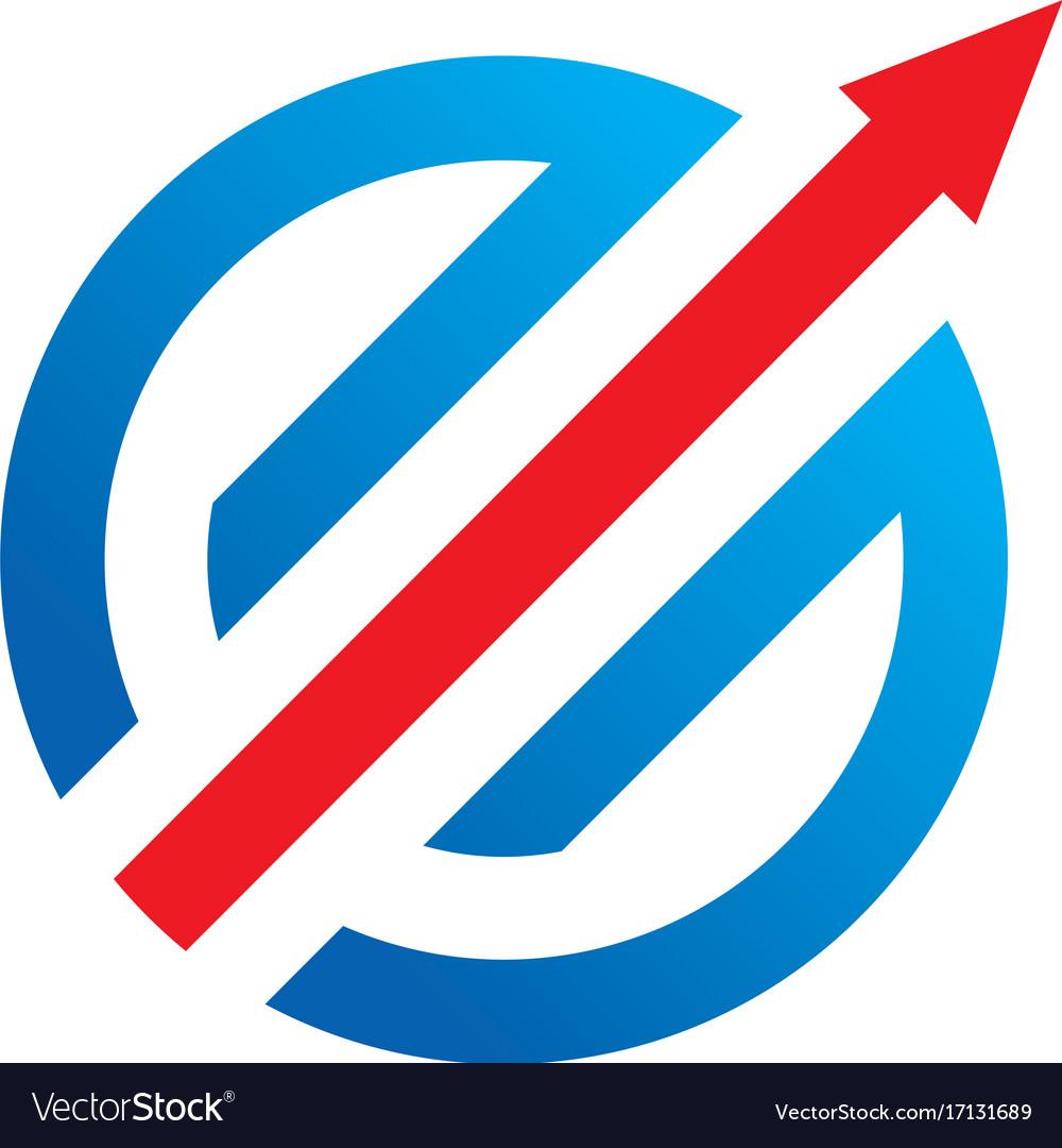round arrow target logo royalty free vector image rh vectorstock com target logo vector free download Walgreens Logo Vector