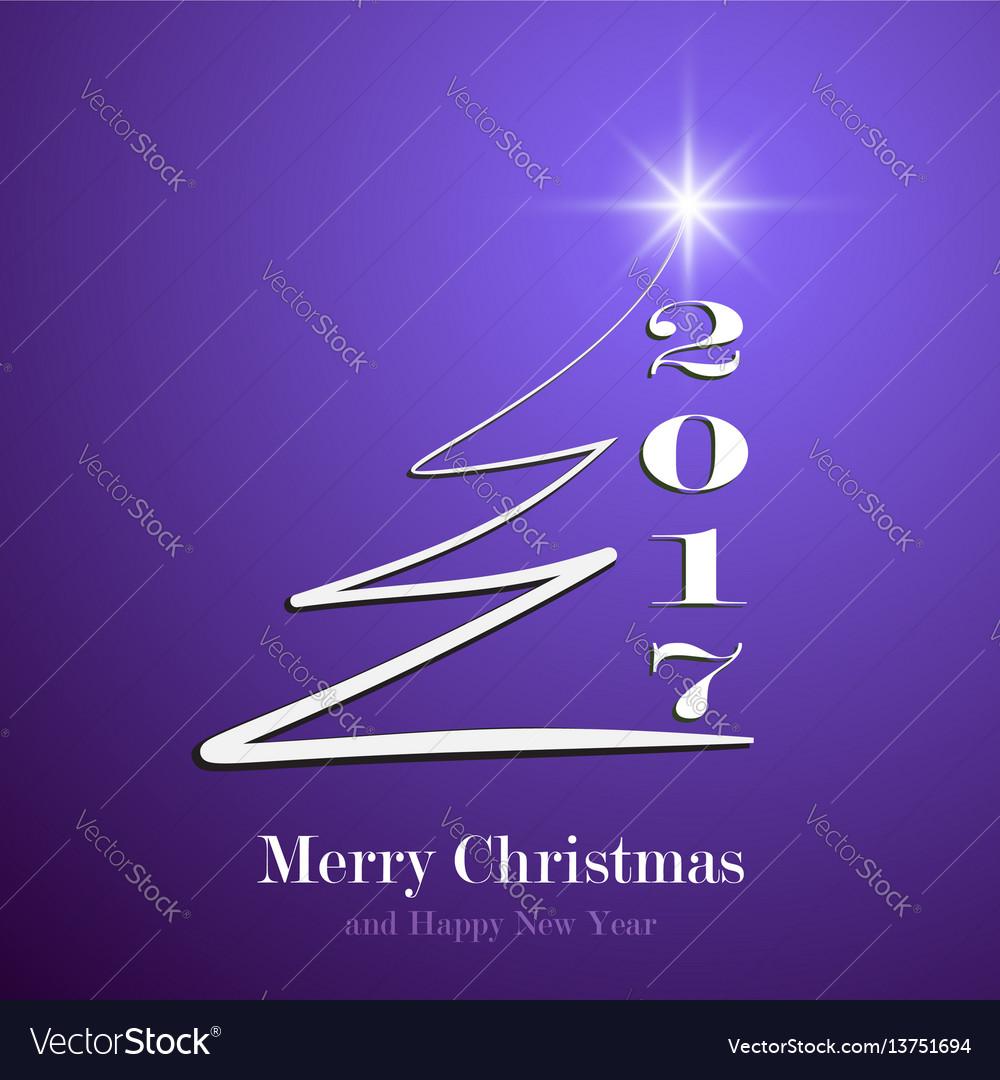 Happy new year 2017 background calendar