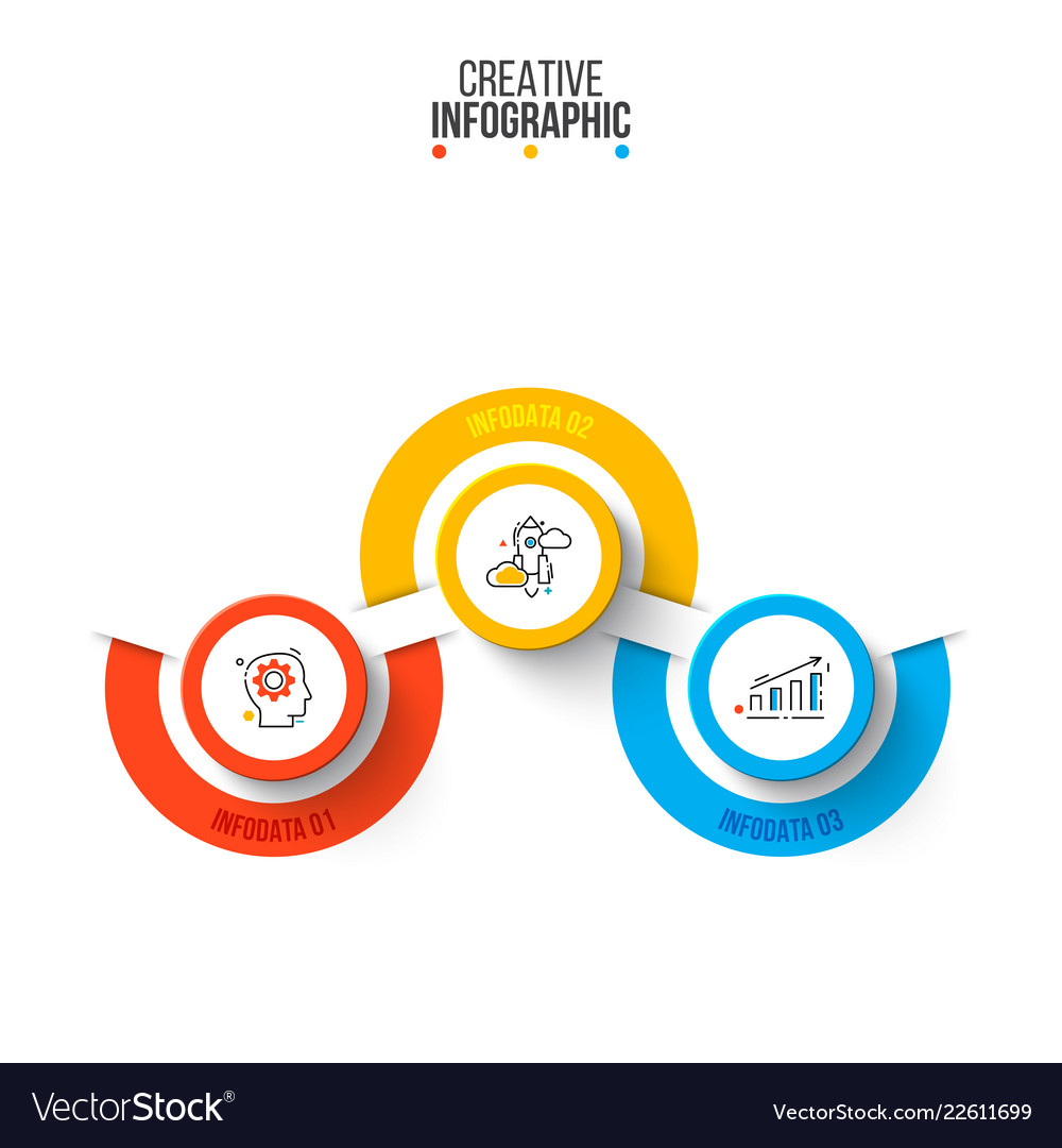 Infographic design template business