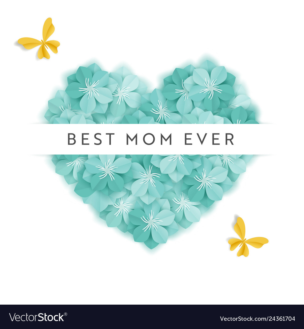 Happy mothers day holiday banner mother day card