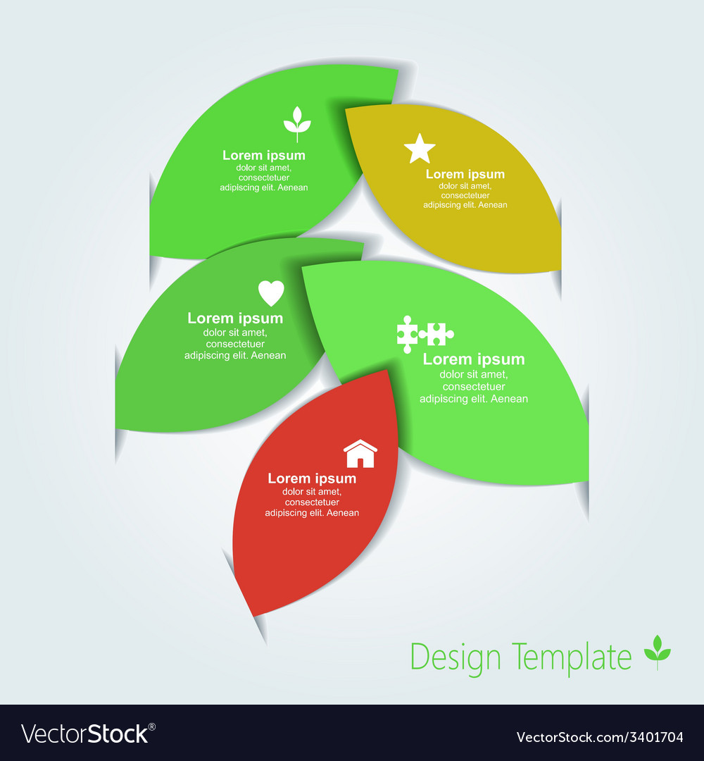 infographic design template royalty free vector image