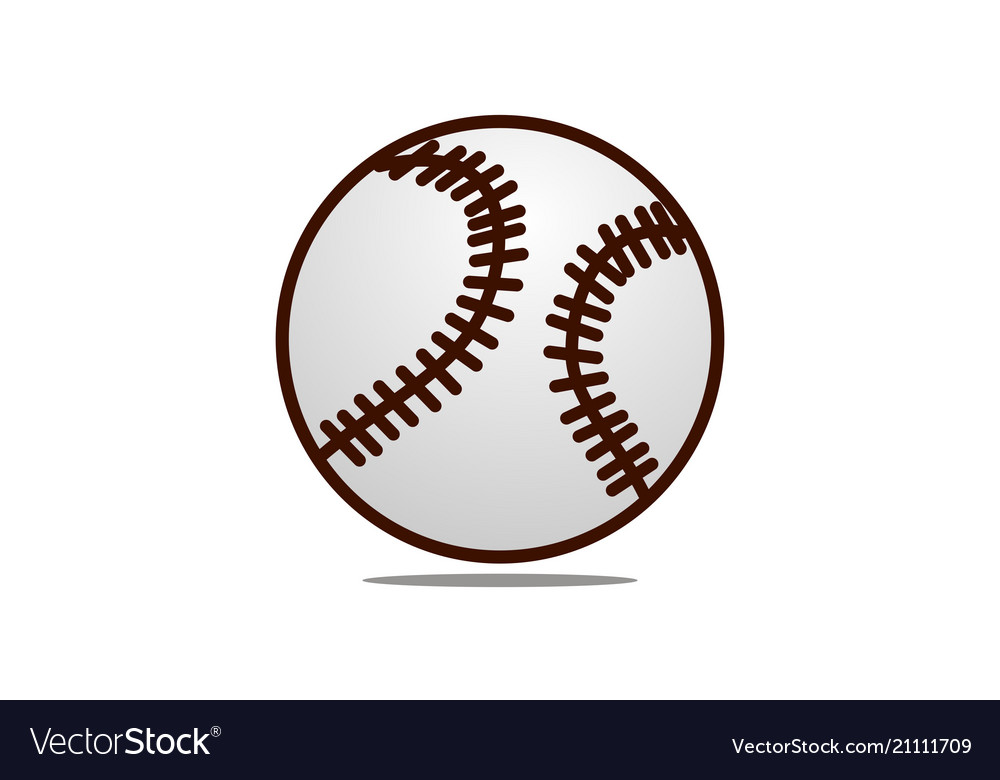 Baseball logo design template