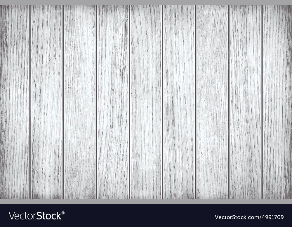 White grey wooden texture old painted planks vector image