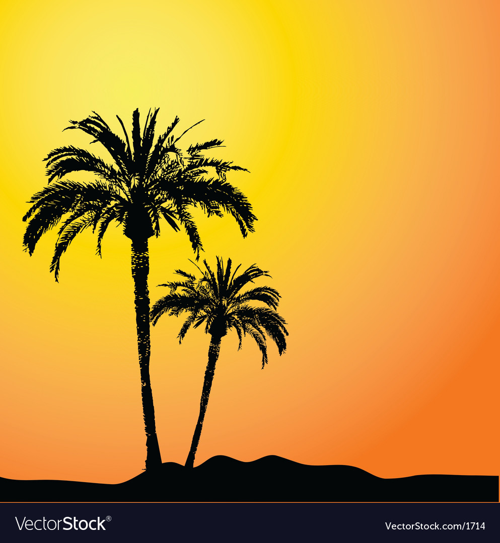 Palm trees design