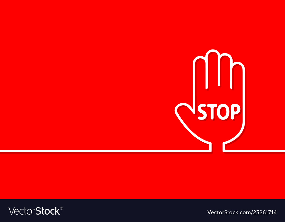 Stop sign passage is prohibited in the form of a