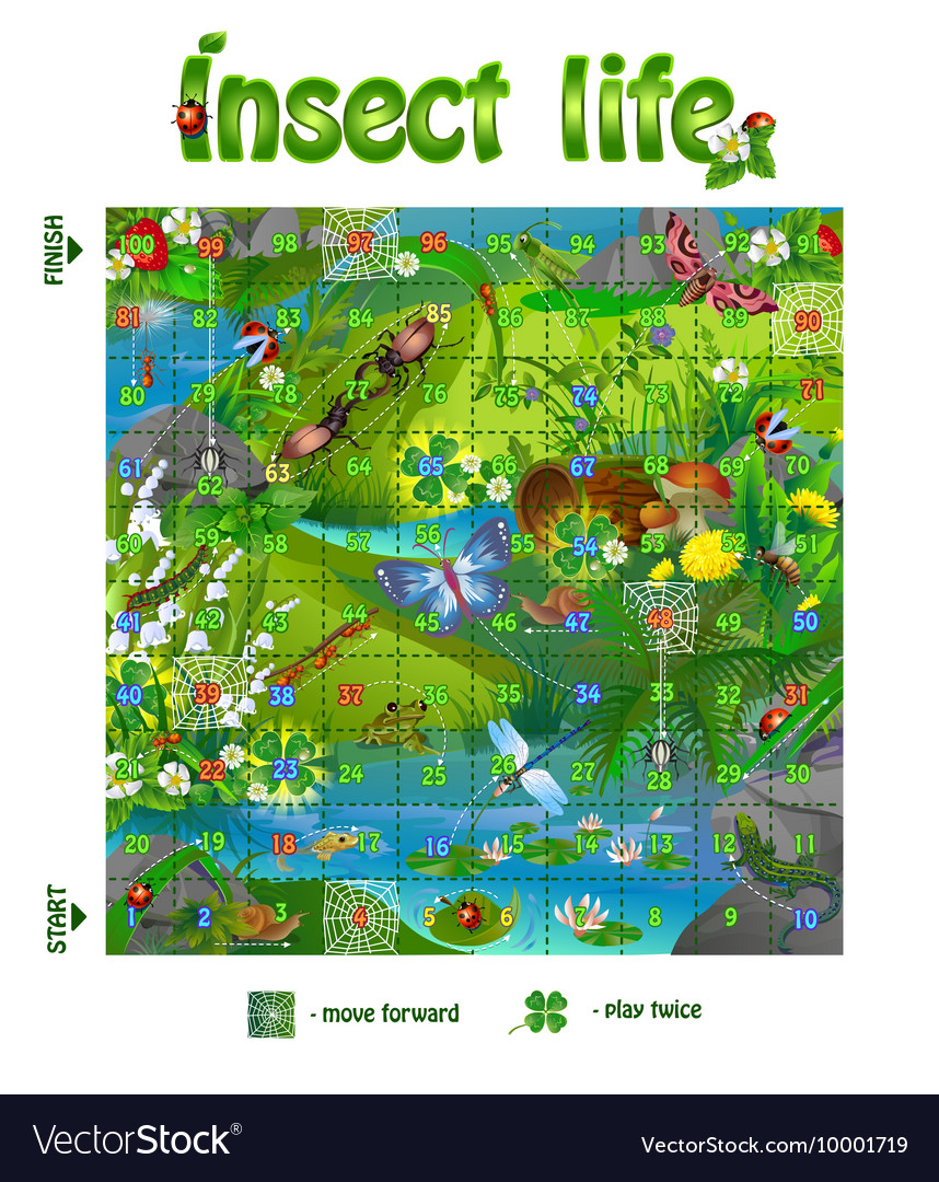 Board game insect life 3