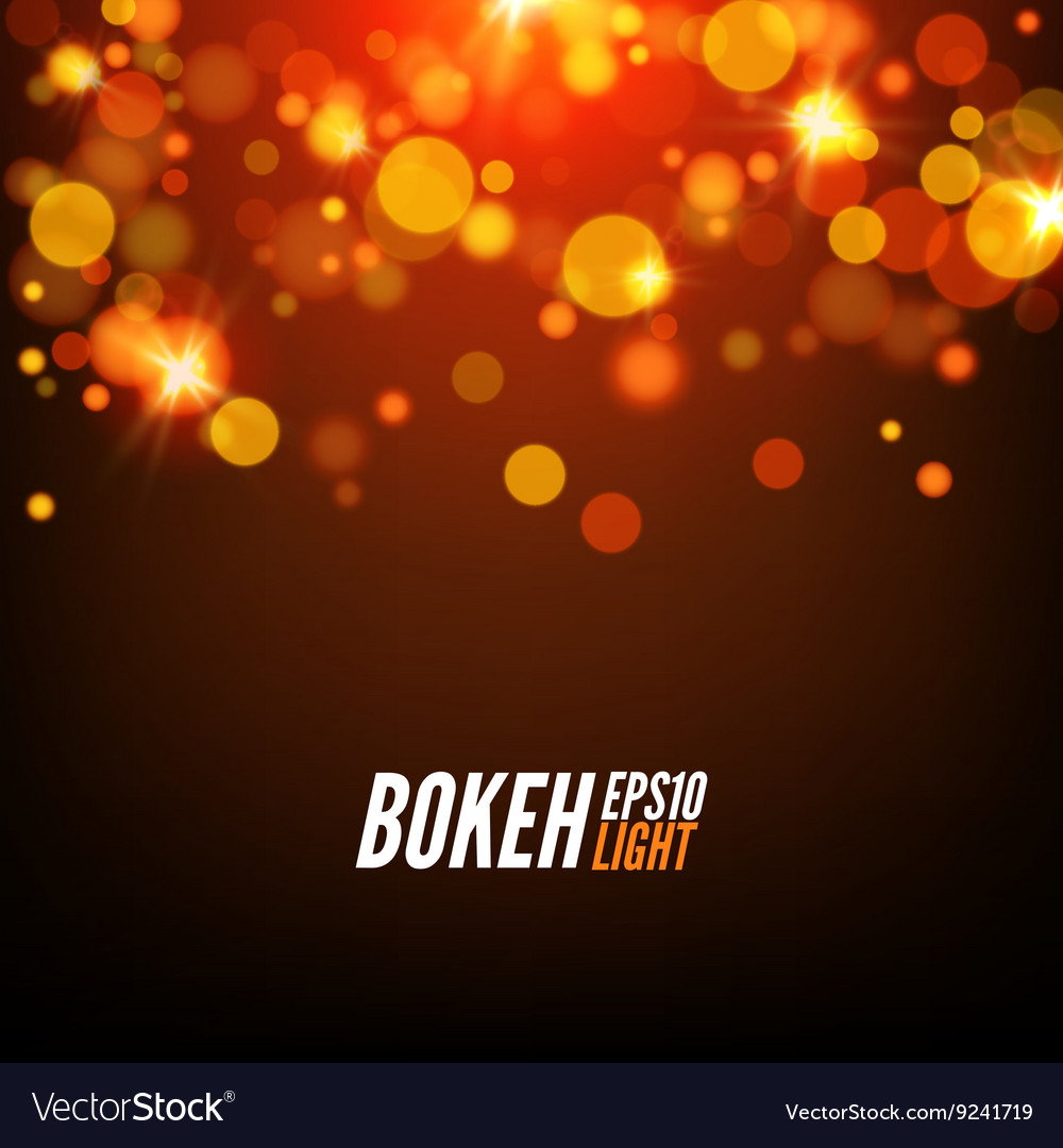 Festive Colorful bokeh background lights Abstract
