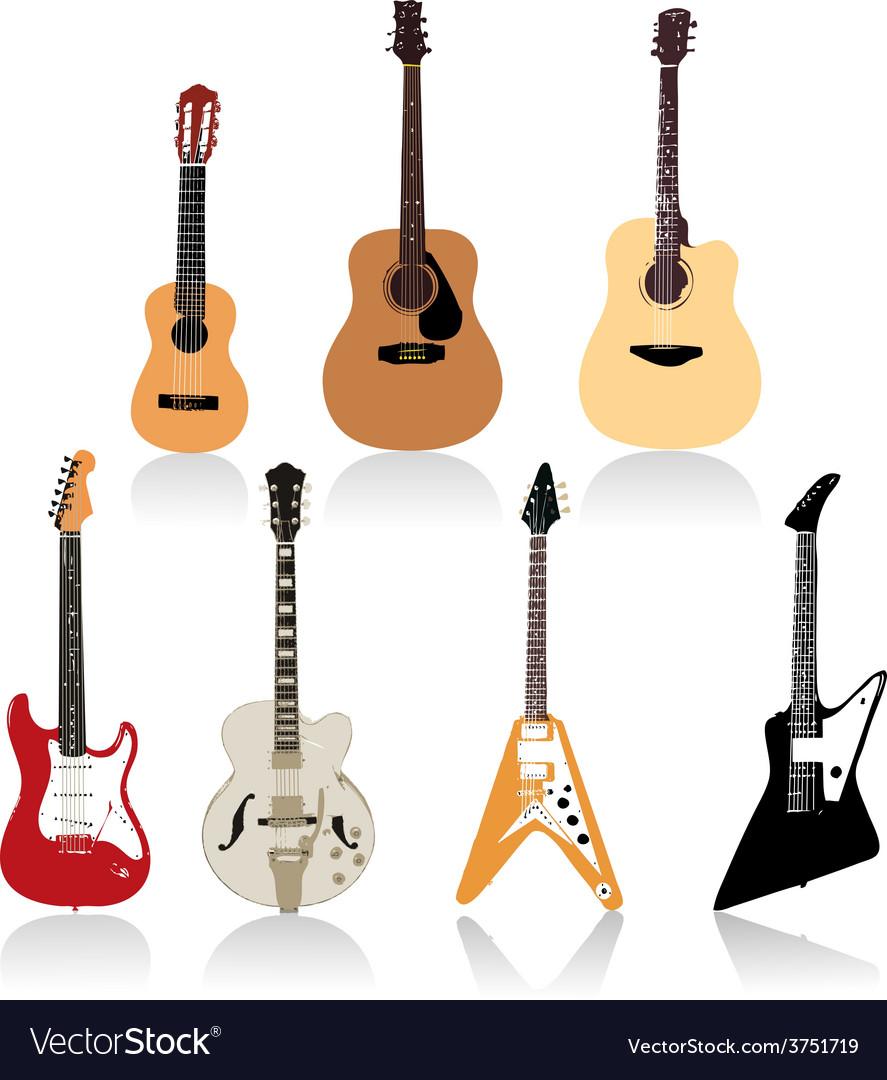Guitar set art