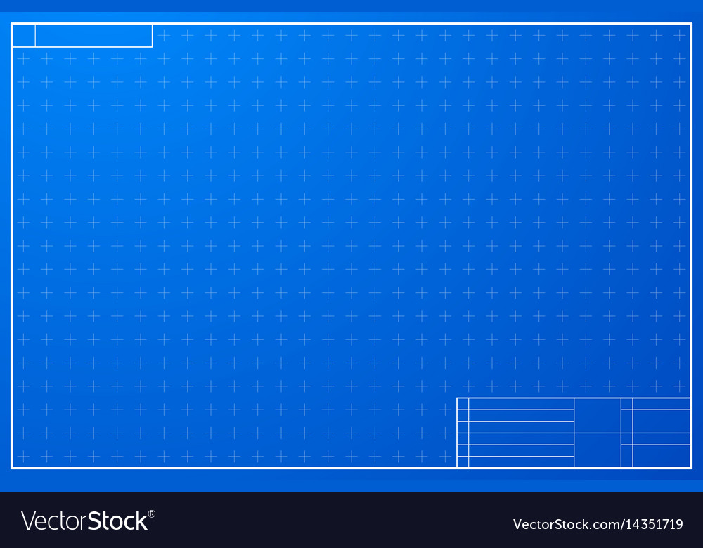 layout template in blueprint style royalty free vector image