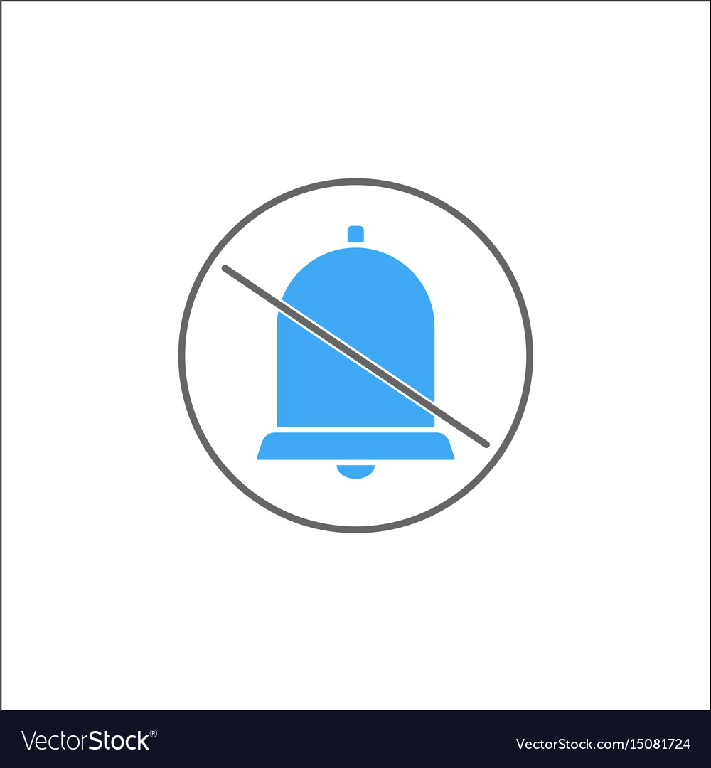 Soundless and mute solid icon mobile sign