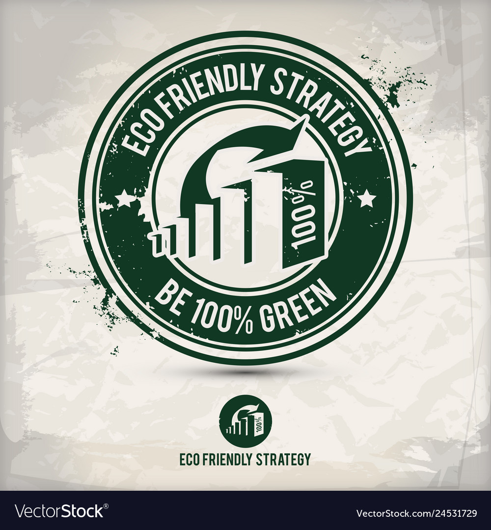 Alternative eco strategy stamp