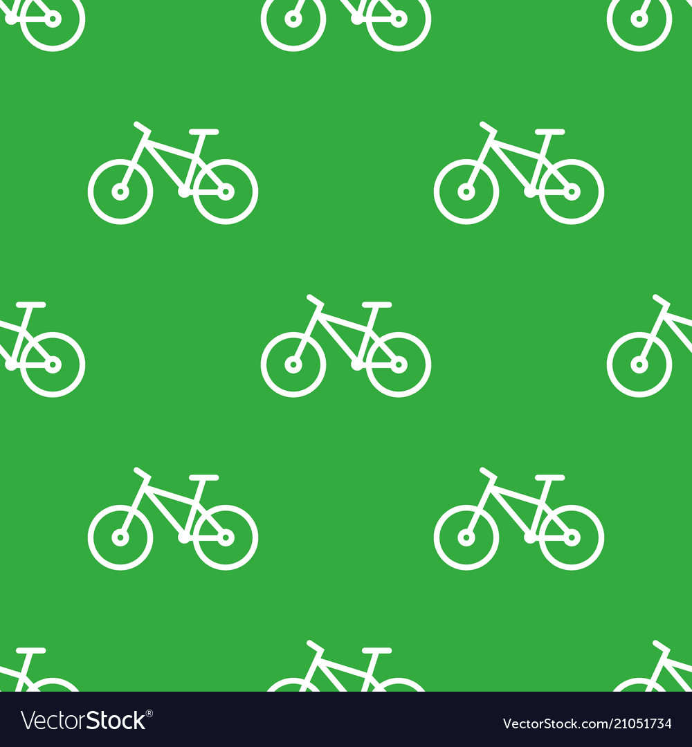 Seamless bike pattern