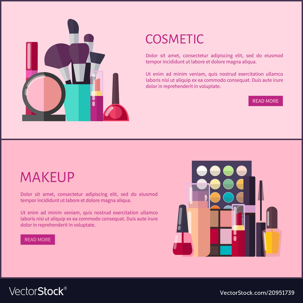 Cosmetic And Makeup Promotional