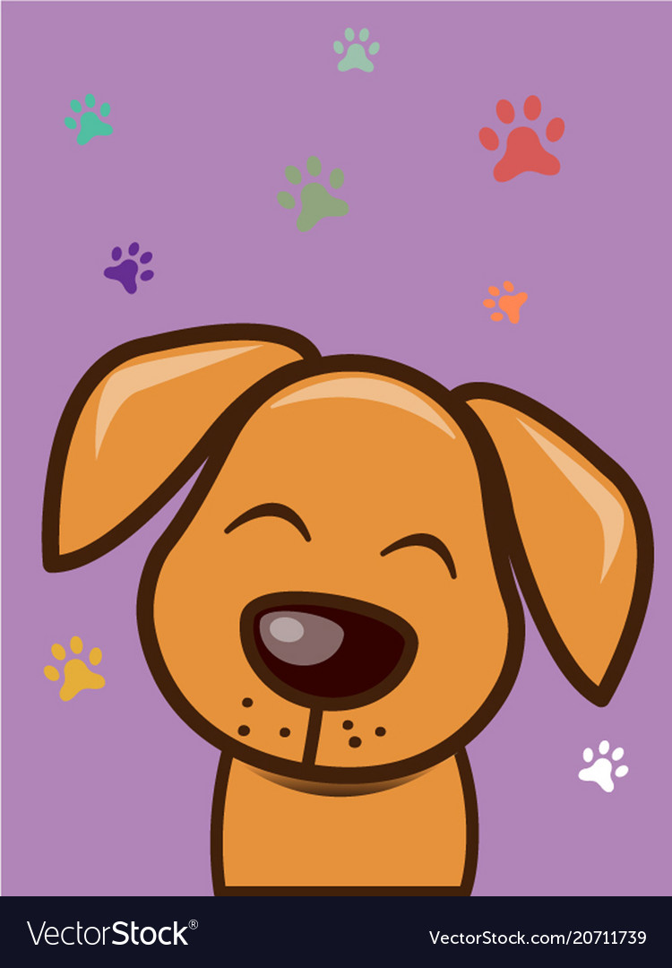 Love me love my dog cartoon design