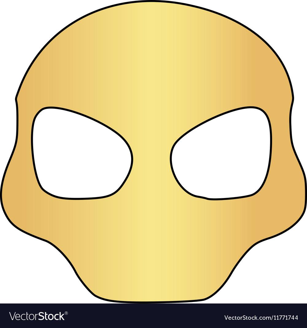 Alien Head Computer Symbol Royalty Free Vector Image