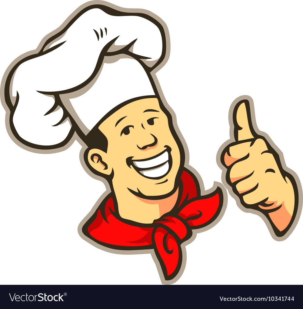 Chef give a thumbs up