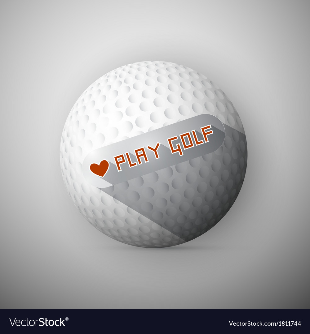 Golf Ball Abstract Background I Love Golf