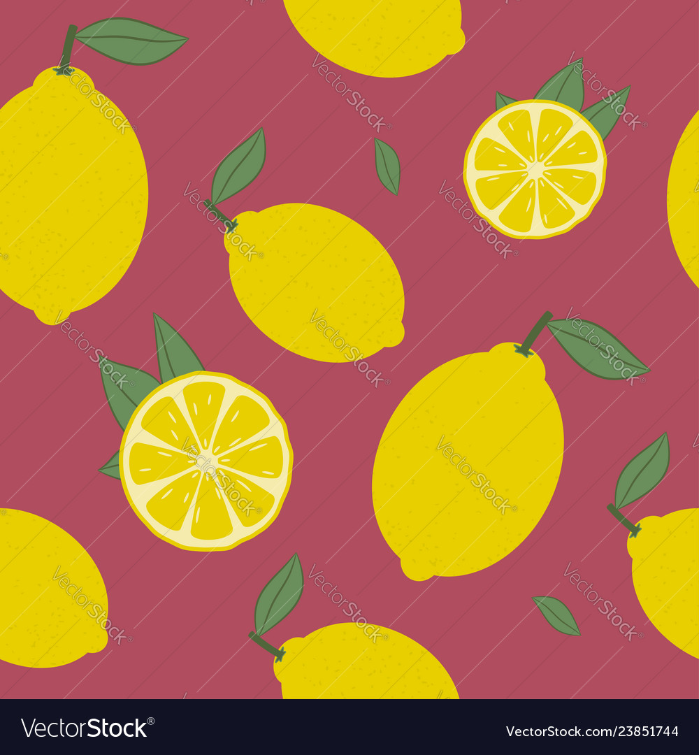 Lemon seamless