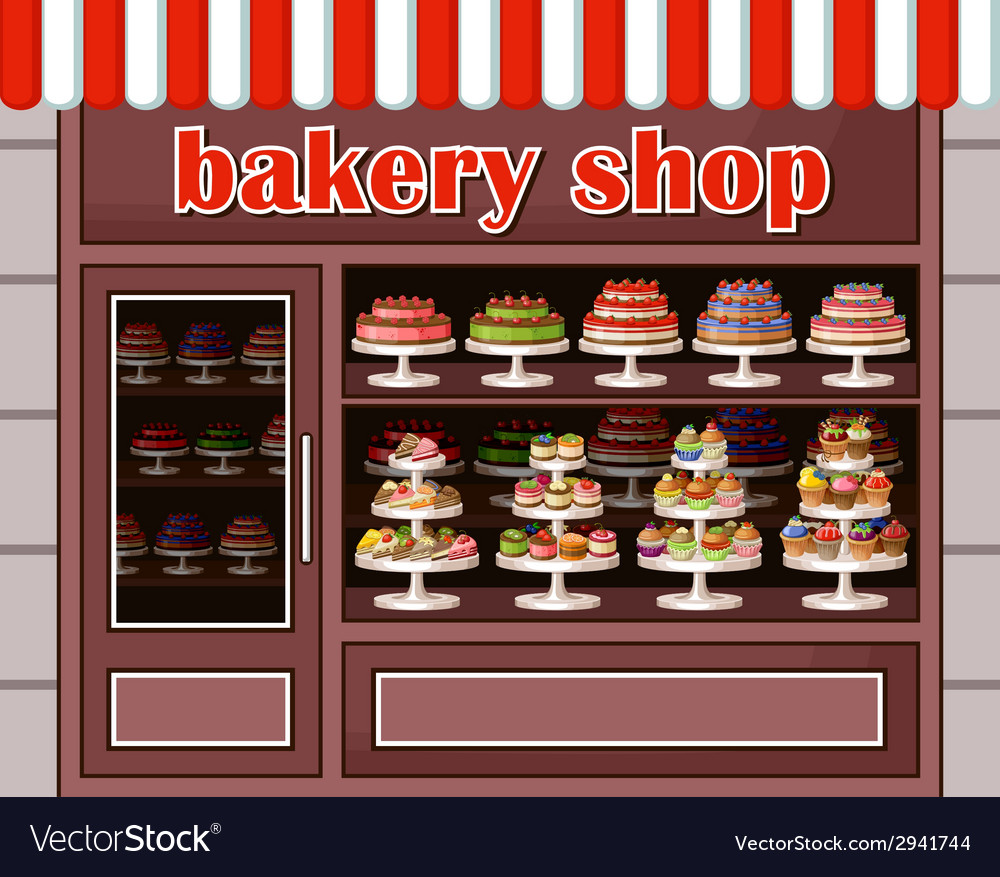 Анимашки подружки, картинки витрина магазина сладостей в карандаше