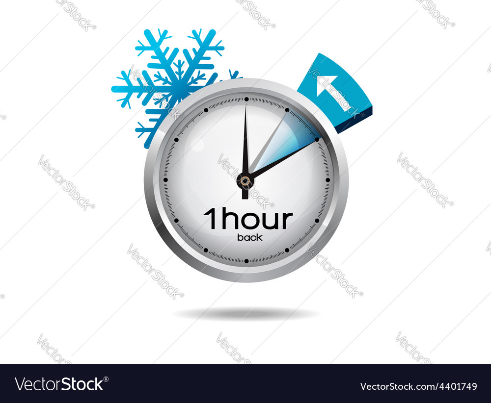 Clock switch to winter time