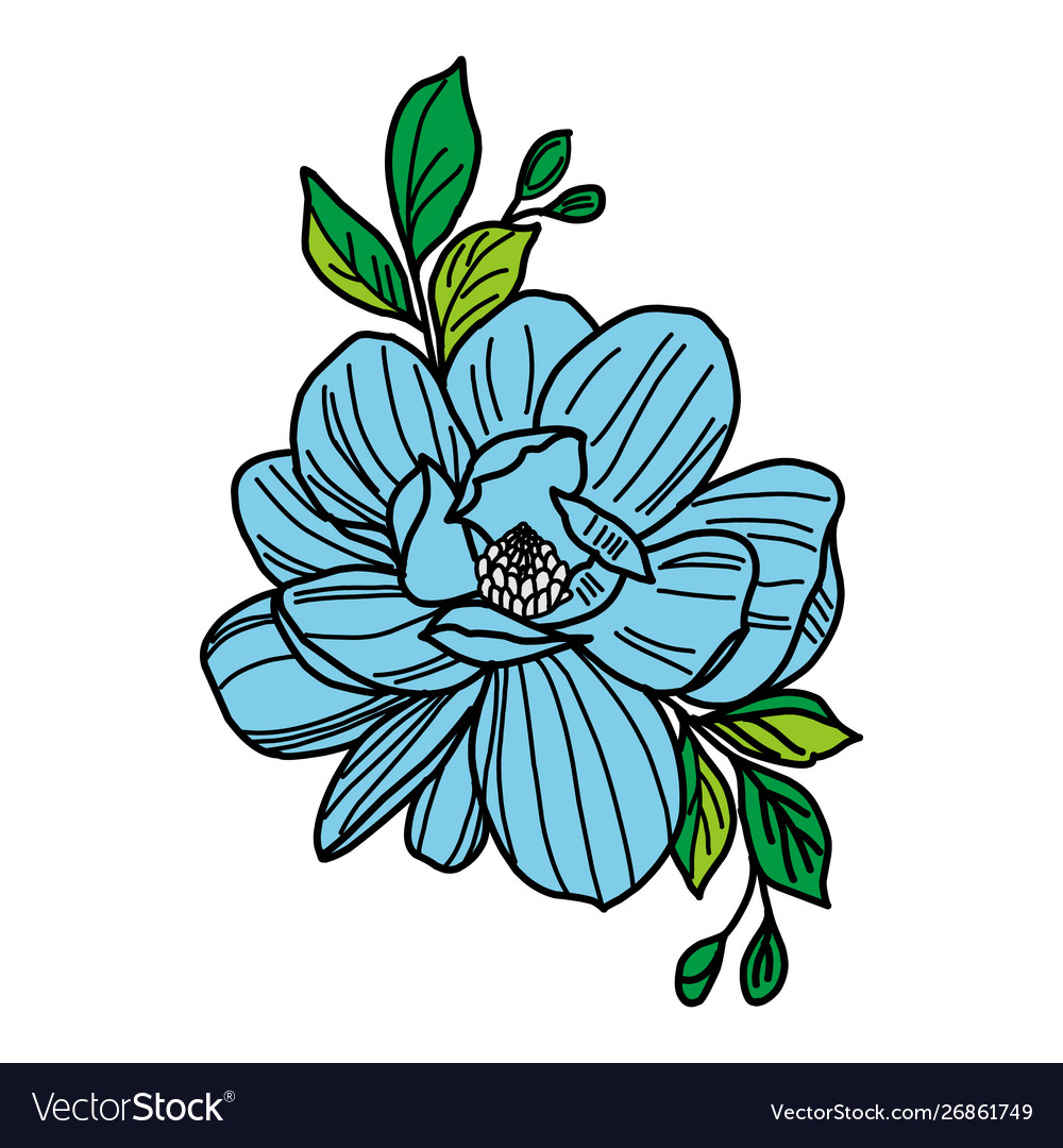 Graphical flower