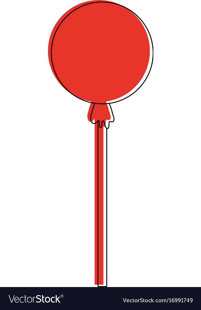 Wrapped lollipop candy icon image