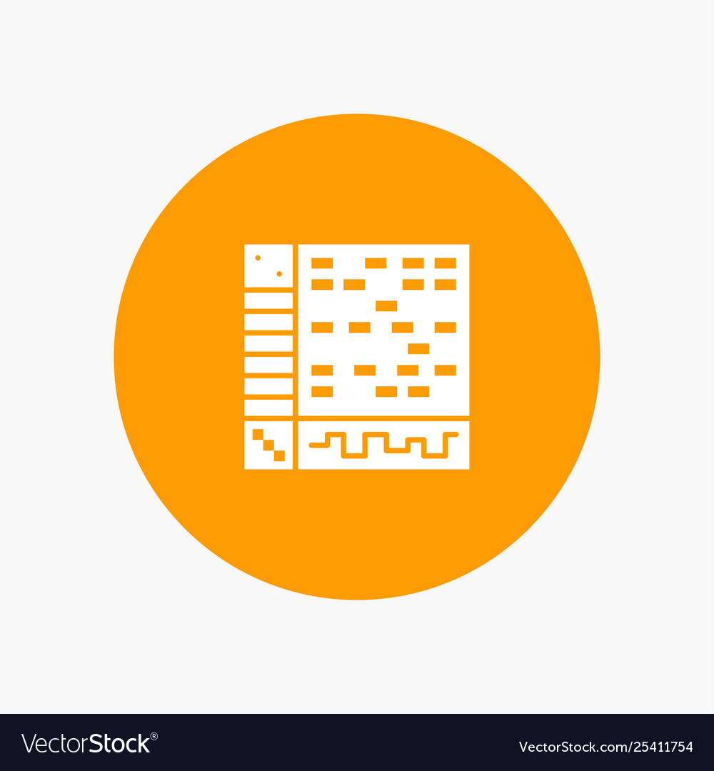 Ableton Application Audio Computer Draw Royalty Free Vector