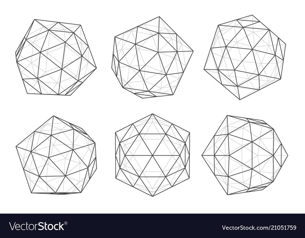 Deamendas background polygons