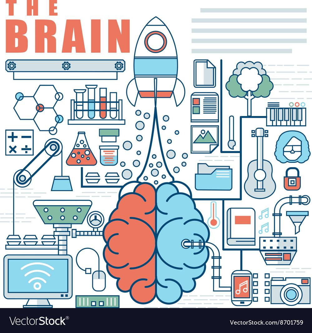Infographics elements concept of Big Idea