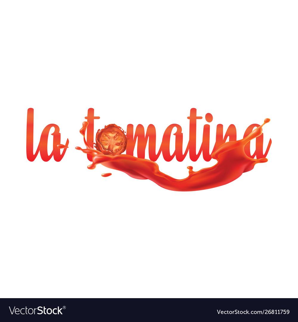 La tomatina festival tomatoes festival