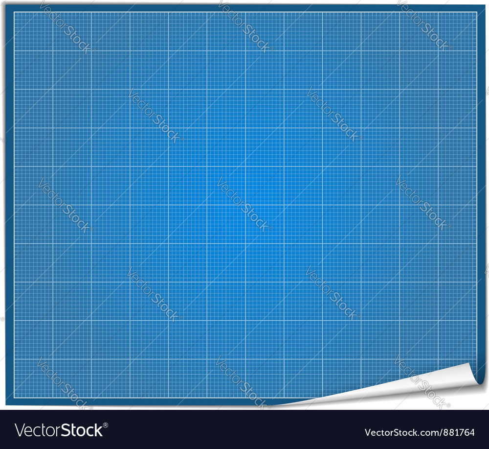 Blueprint paper royalty free vector image vectorstock blueprint paper vector image malvernweather