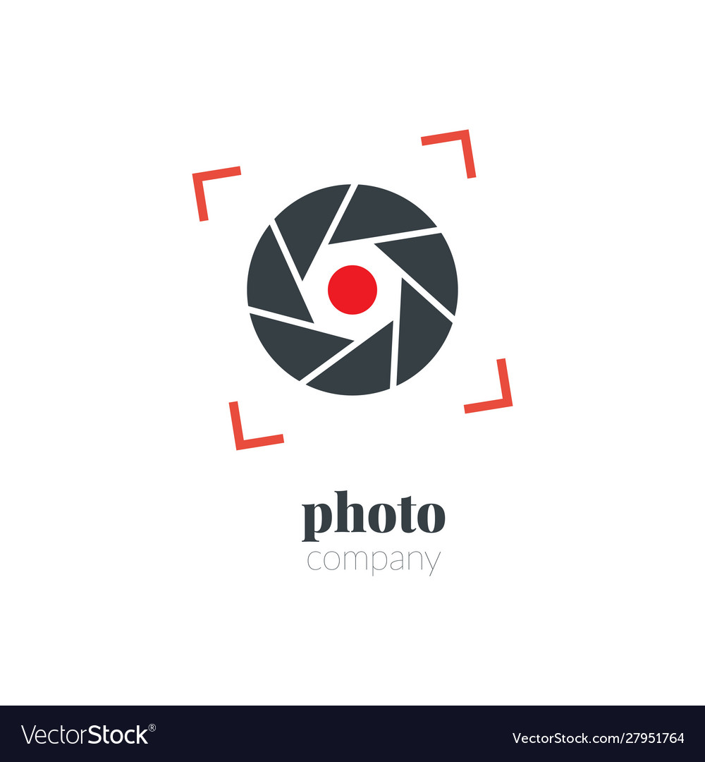 Creative Camera Logo Photography Logo Icon Vector Image