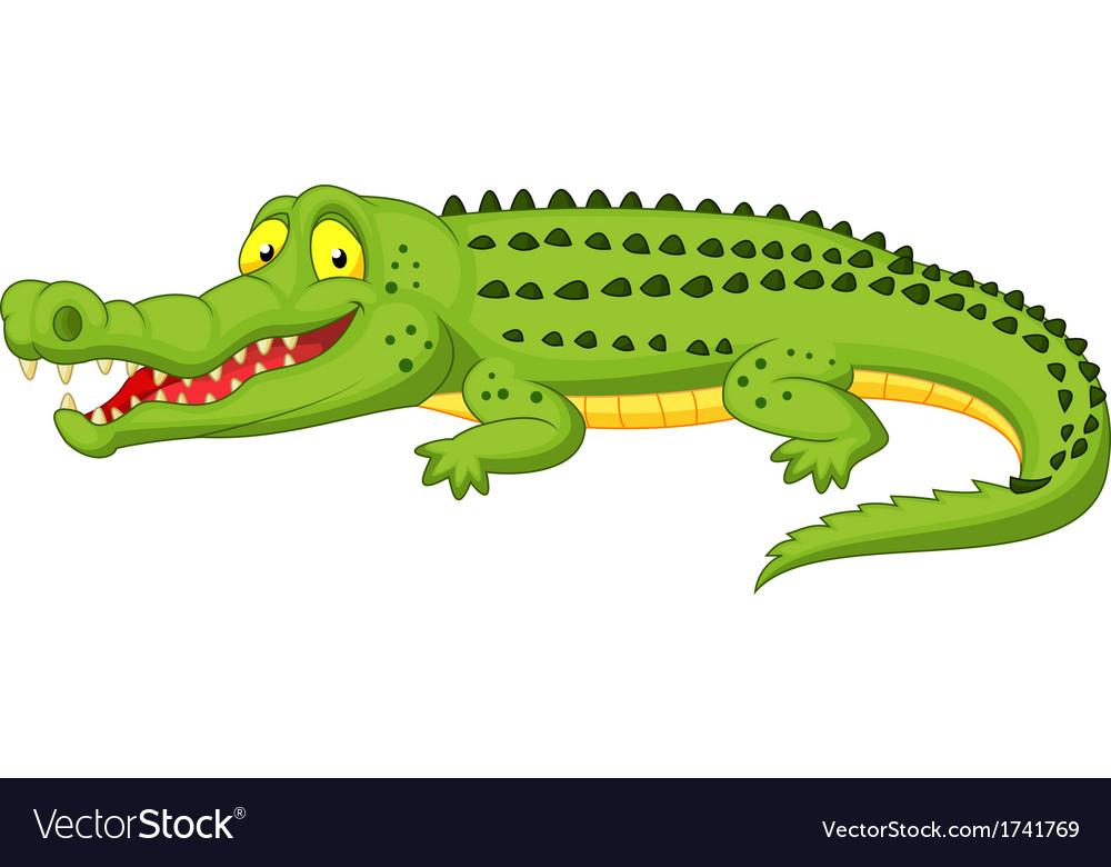 Crocodile cartoon Royalty Free Vector Image - VectorStock - photo#21